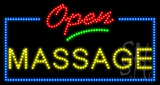 Open Massage Animated LED Sign