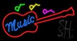 Music Animated LED Sign