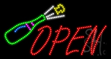 Open Animated LED Sign