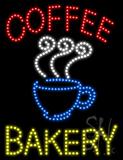 Coffee Bakery Animated LED Sign