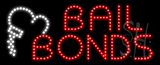 Bail Bonds Animated LED Sign