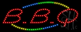 BBQ Animated LED Sign