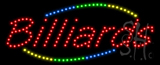 Billiards Animated LED Sign