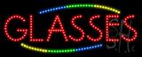 Glasses Animated LED Sign