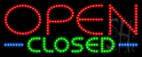 Open Closed Animated LED Sign