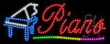 Piano Animated LED Sign