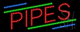 Pipes Animated LED Sign