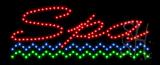 Spa Animated LED Sign