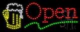 Beer Open Animated LED Sign