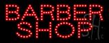 Barber Shop Logo LED Sign