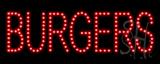 Burgers LED Sign