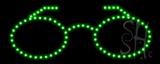 Glasses Logo LED Sign