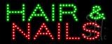 Hair & Nails LED Sign