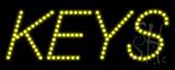 Keys LED Sign