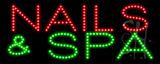 Nails & Spa LED Sign