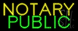 Notary Public LED Sign