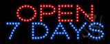 Open 7 Days LED Sign