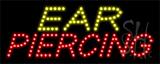 Ear Piercing LED Sign