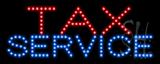 Tax Service LED Sign