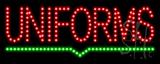 Uniforms LED Sign