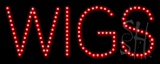 Wigs LED Sign