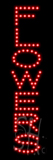 Flowers LED Sign
