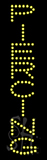 Piercing LED Sign