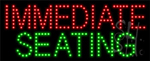 Immediate Seating LED Sign