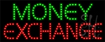 Money Exchange LED Sign