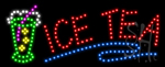 Ice Tea LED Sign