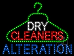 Dry Cleaners Alteration LED Sign