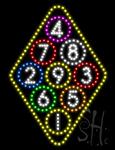 Billiards LED Sign