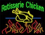 Rotisserie Chicken LED Sign