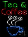 Tea And Coffee LED Sign