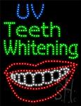 VU Teeth Whitening LED Sign