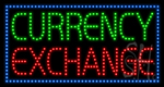 Currency Exchange LED Sign