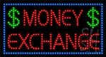 Money Exchange LED Sign
