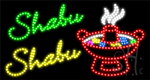 Shabu Shabu LED Sign