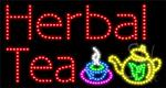 Herbal Tea LED Sign
