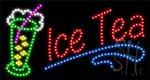Ice Tea LED Sign