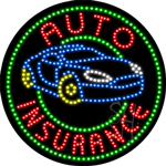 Auto Insurance LED Sign