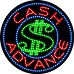 Cash Advance LED Sign