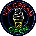 Ice Cream LED Sign