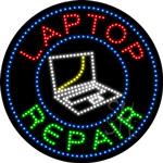 Laptop Repair LED Sign