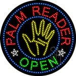 Palm Reader LED Sign