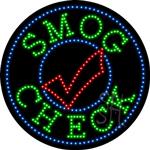 Smog Check LED Sign