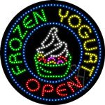 Frozen Yogurt LED Sign