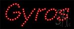Gyros LED Sign