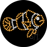 Clown Fish LED Sign