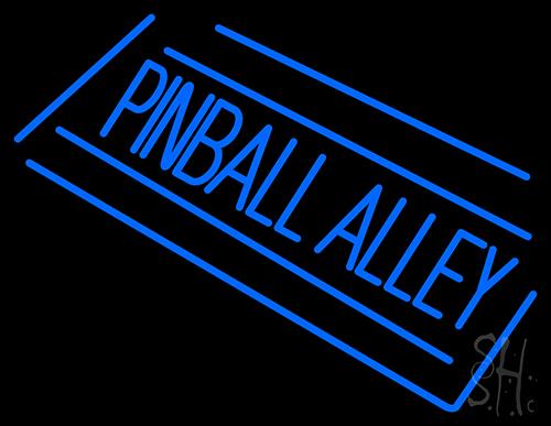 Pinball Alley Neon Flex Sign